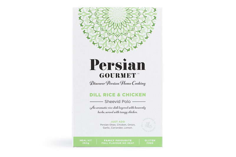 dill rice and chicken