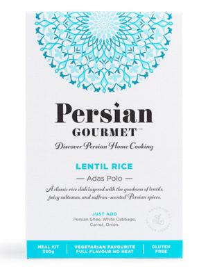 Lentil Rice- Adas Polo - Meal Kit