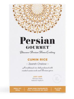 Persian Cumin Rice - Zeereh polo