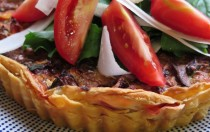mixed vegetable quiche