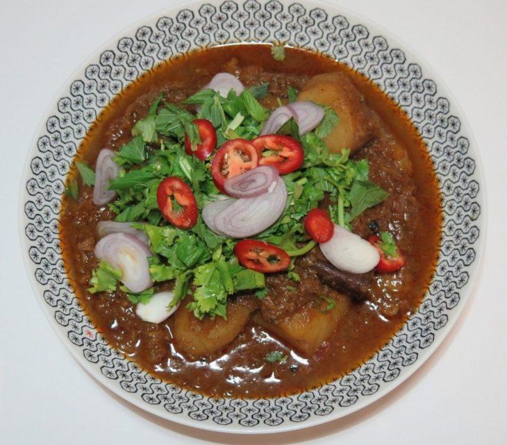Tandoori Curry recipe with lamb