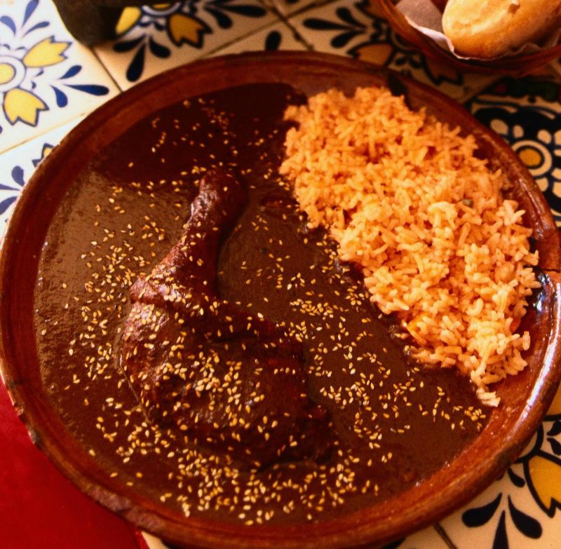 Chicken Mole Recipe — Dishmaps