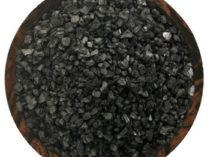 black lava hawaiian salt